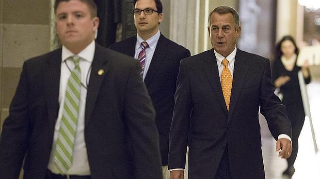 Los republicanos aceptan votar los fondos para Seguridad Nacional sin condiciones