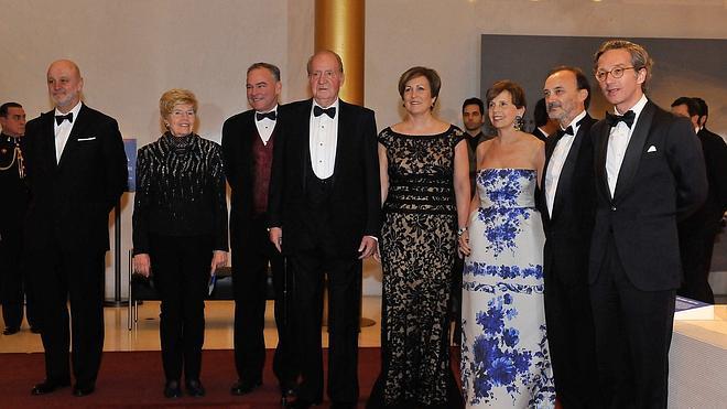 El rey Juan Carlos destaca la fortaleza de los lazos que unen a España y EE UU