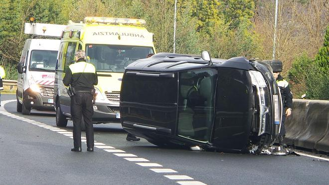 El fin de semana se cierra con nueve fallecidos en las carreteras, cinco de ellos motoristas