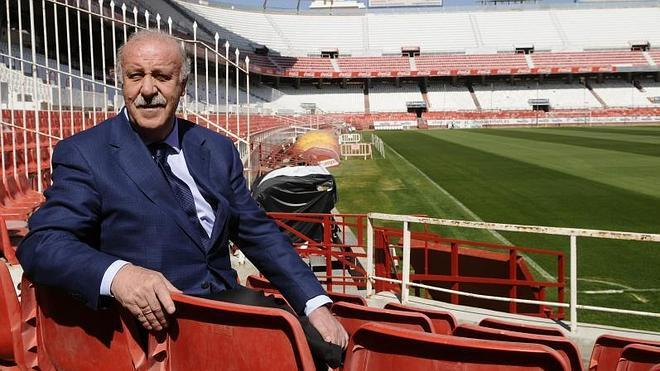 Del Bosque: «No me ha ido mal siendo permisivo. Me veo reflejado en Ancelotti»