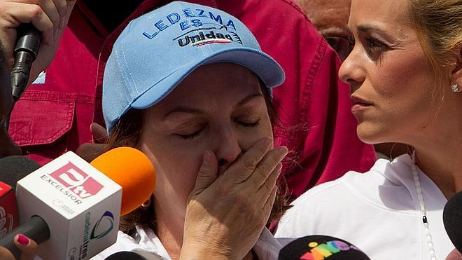 Podemos se reunió «confidencialmente» con la esposa del alcalde de Caracas