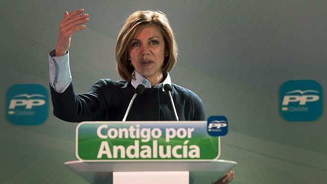 Dolores de Cospedal, la última en calentar la polémica de la final