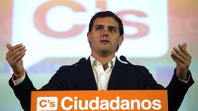 Rivera: «El enemigo de España no son ni el PP, ni el PSOE ni Podemos»