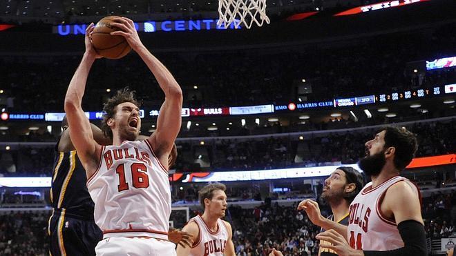 Mirotic dirige a los Bulls y Pau Gasol regresa al 'doble-doble'