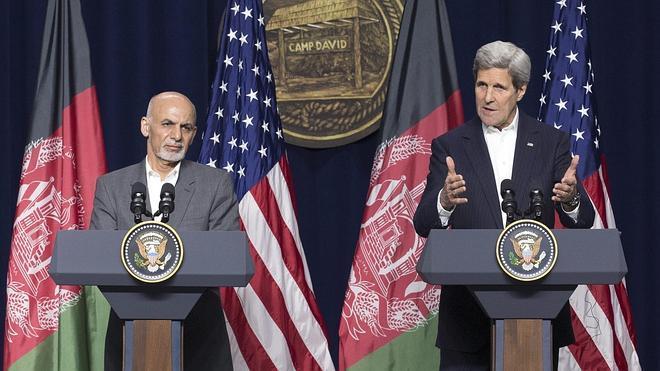 EE UU promete fondos para la seguridad y el desarrollo en el Afganistán de posguerra