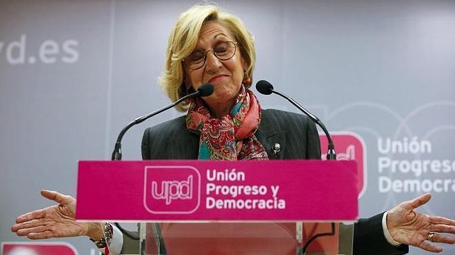 Rosa Díez se someterá el sábado a una moción de confianza en UPyD