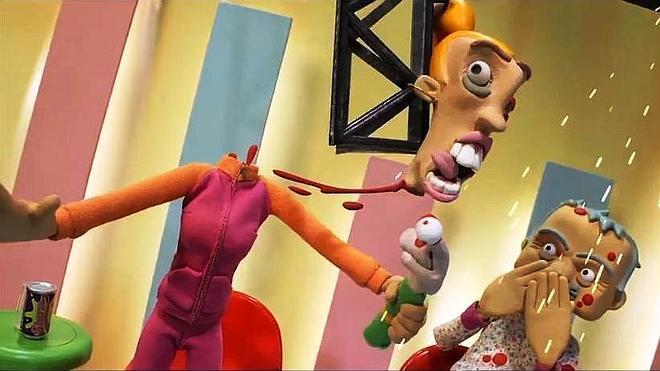 Belén Esteban pierde la cabeza en un filme vasco