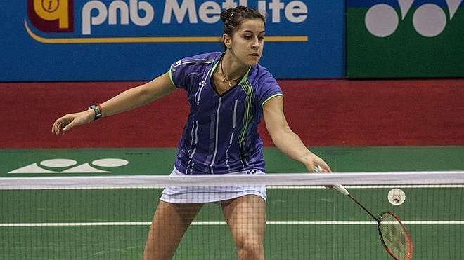 Carolina Marín, a cuartos de final del Abierto de la India