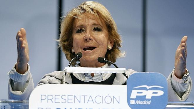 Aguirre: «Me gustaría muchísimo que Ciudadanos estuviera en el PP»