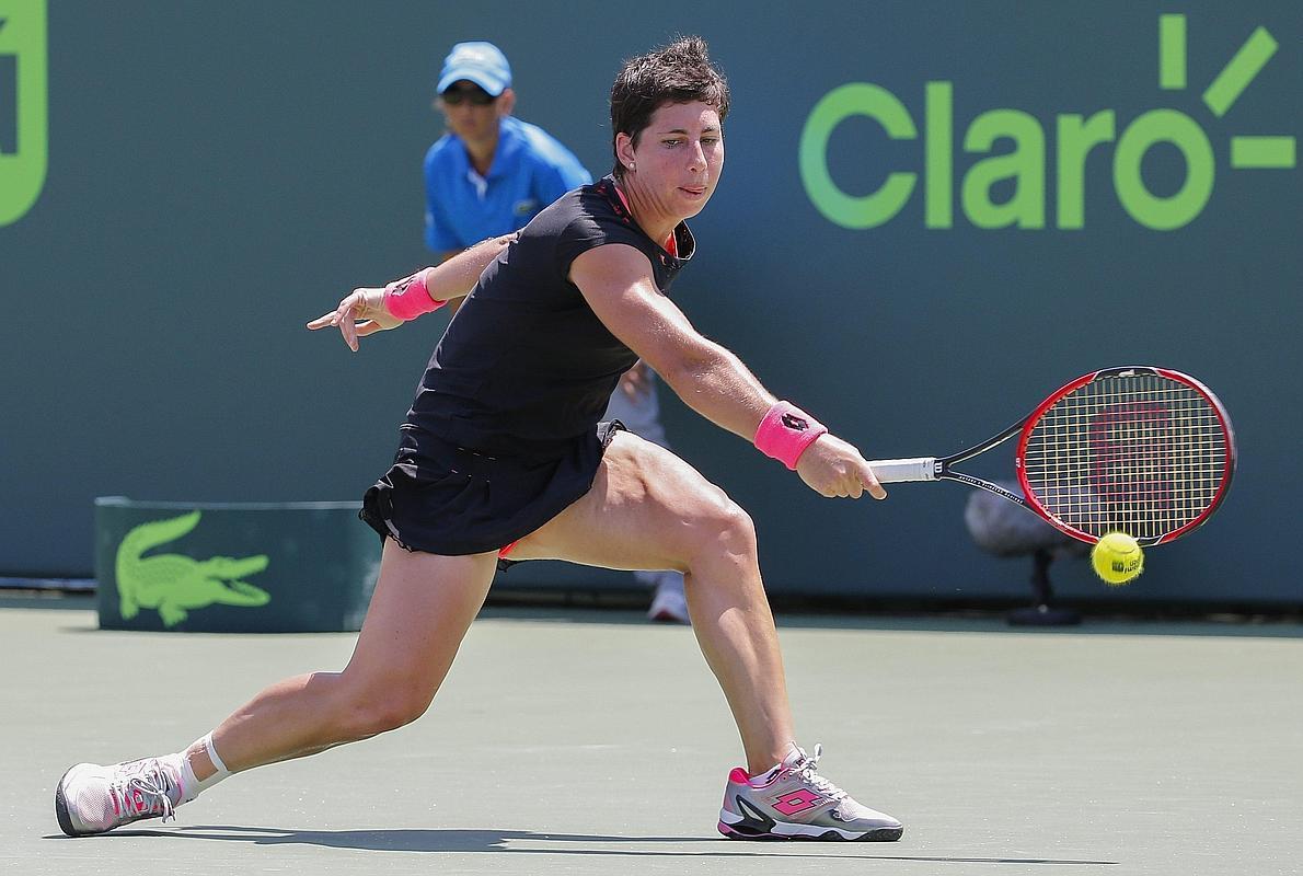 Carla Suárez, finalista y en el 'top 10' mundial