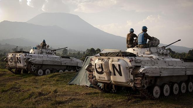 Mueren dos cascos azules tras una emboscada en la República Democrática del Congo