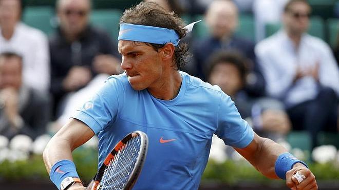 Nadal pasa con apuros su último examen antes de medirse a Djokovic en cuartos