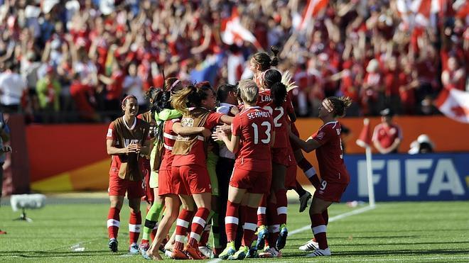 Canadá derrota 1-0 a China en el partido inaugural del Mundial Femenino