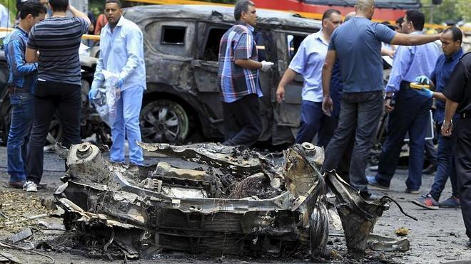 Muere el fiscal general de Egipto en un atentado en El Cairo