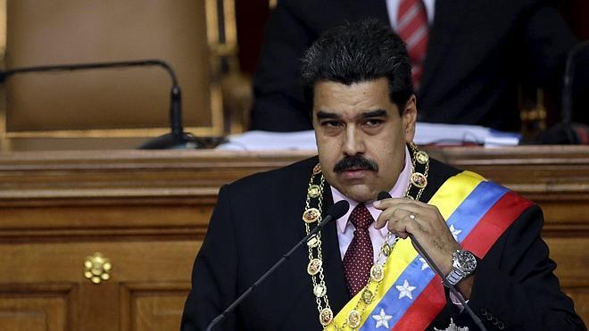Maduro amenaza con llevar a instancias internacionales la 'Ley Mordaza' española