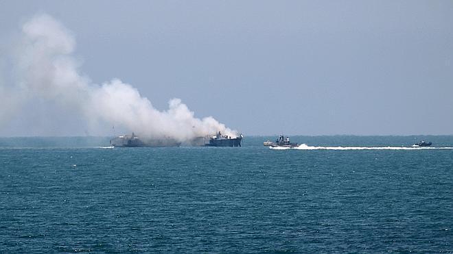 El Estado Islámico reivindica el ataque a un barco militar egipcio