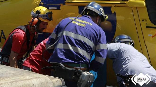 Aparece muerto el minero atrapado en el pozo de Cerredo tras hundirse un túnel
