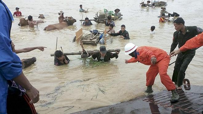 Al menos 27 muertos por las inundaciones en Birmania