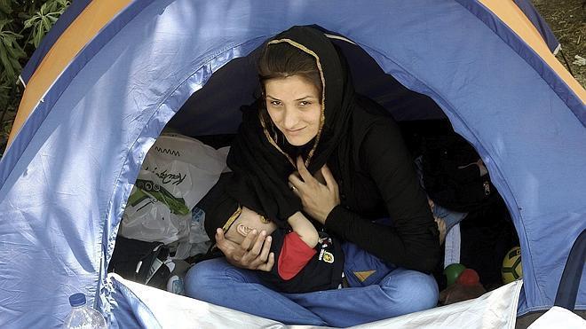 La ONU denuncia las condiciones «vergonzosas» de los refugiados en Grecia