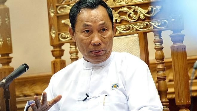 Destituyen al jefe del partido en el poder en Birmania