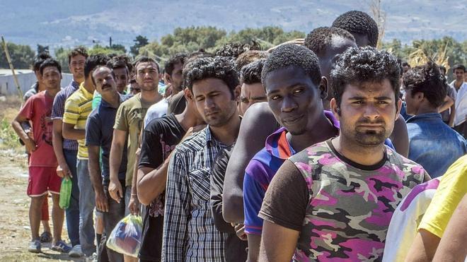 La llegada de inmigrantes a Europa se triplica con respecto a 2014