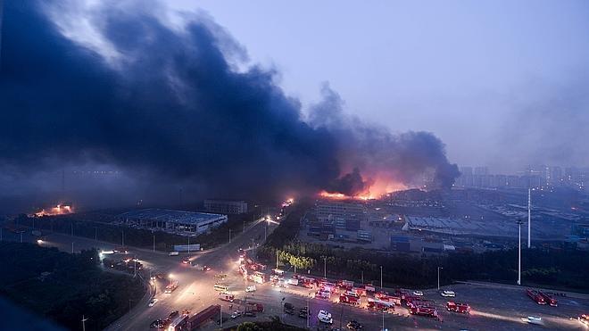 China planea trasladar o modernizar las plantas químicas tras la tragedia de Tianjin
