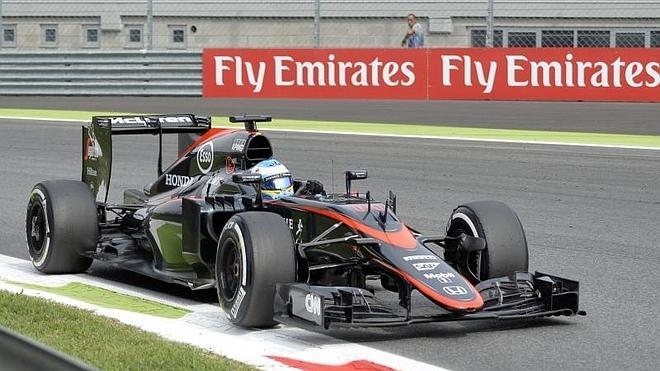 Los laberintos de McLaren en Monza