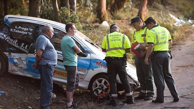 El piloto del rally coruñés «no supo lo que hizo hasta que se bajó del coche»