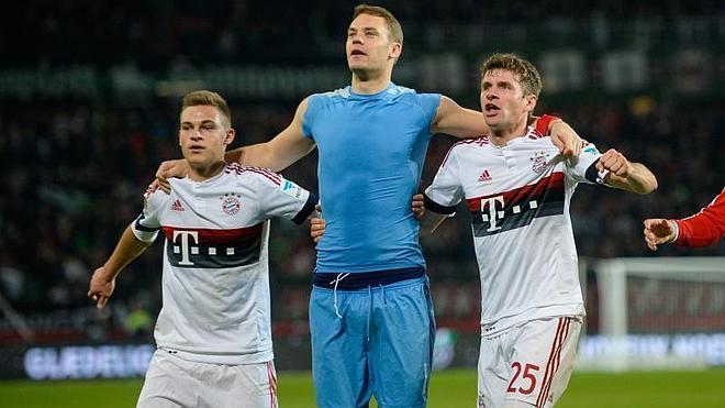 El Bayern acaba la primera vuelta con una escapada en el liderato
