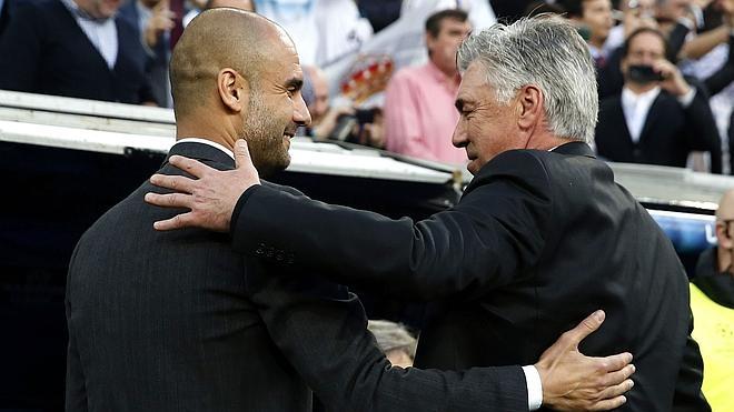 Guardiola da la alternativa a Ancelotti