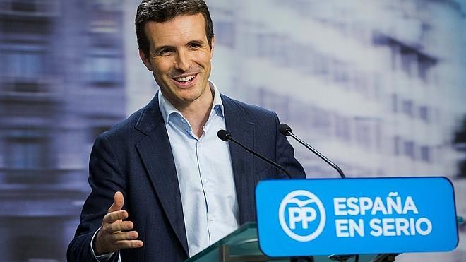 Pablo Casado: «El PP es un partido que sabe llegar a acuerdos»