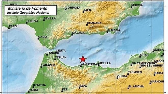 Un terremoto con epicentro al norte de África se deja notar en toda Málaga