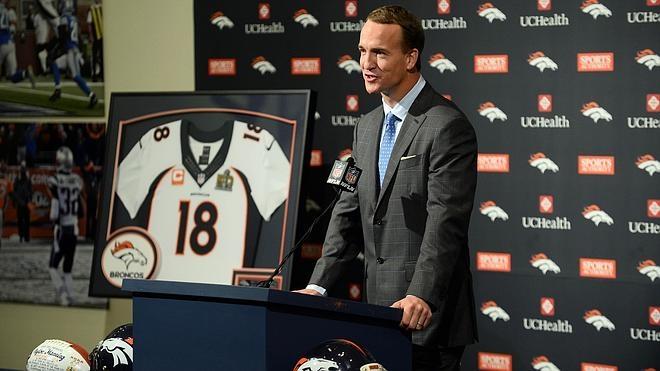 La estrella Peyton Manning anuncia su retirada