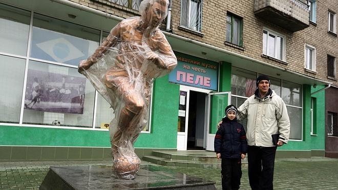 Un museo de Pelé resiste a las bombas en Ucrania