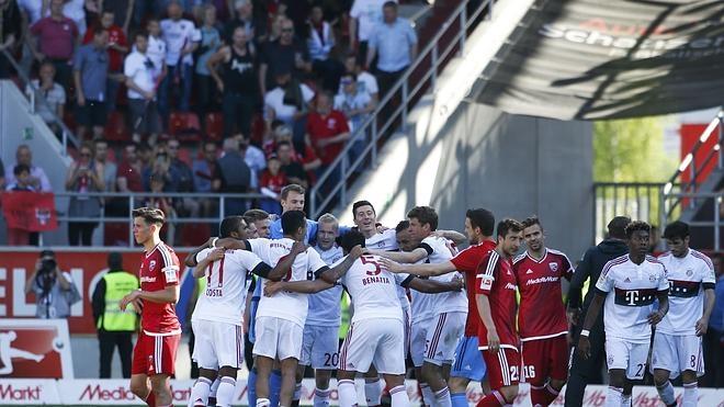 El Bayern conquista su cuarta Bundesliga consecutiva
