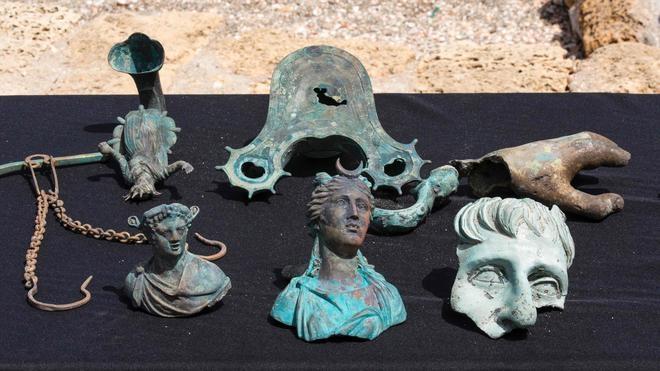 Localizan frente a la costa israelí un tesoro hundido hace 1.600 años