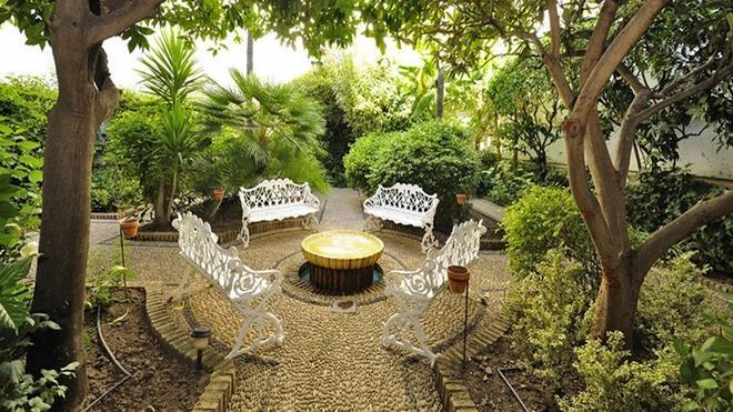 Hoteles con patio
