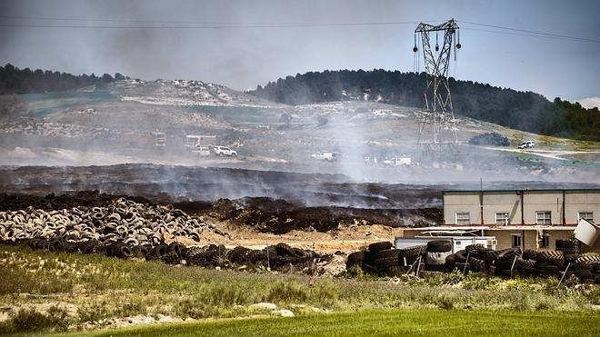 El incendio de Seseña cumple dos semanas sin que los bomberos hayan actuado en la zona donde se originó