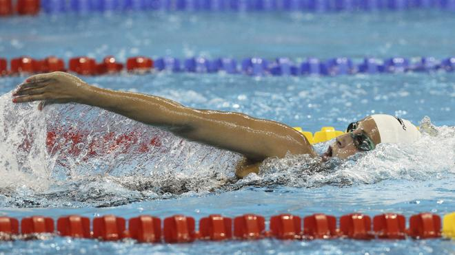 Villaécija deja a Mireia Belmonte sin plaza olímpica en aguas abiertas