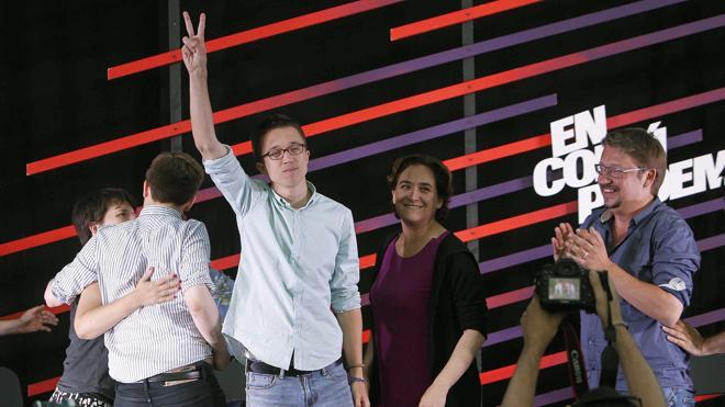 La dualidad del voto catalán favorece ahora a Podemos