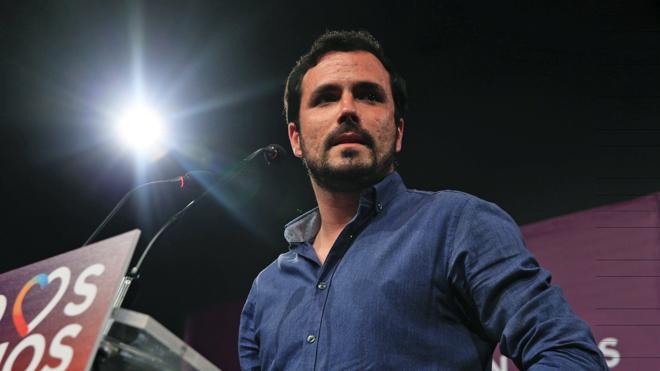 Alberto Garzón y su 'extraño' papel