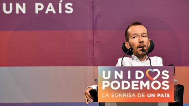 Unidos Podemos descarta apoyar cualquier pacto con Ciudadanos
