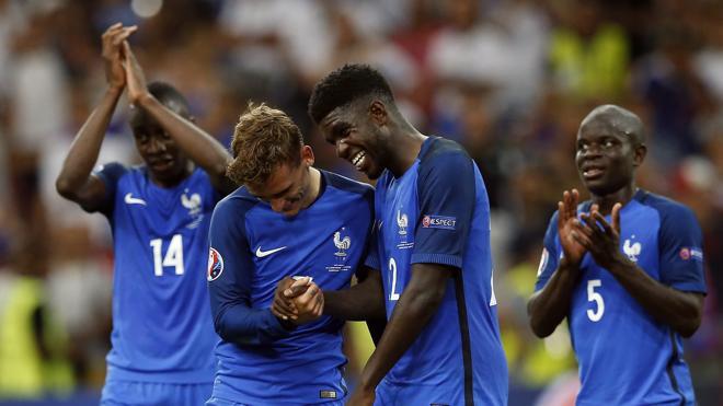 Francia, el trabajo de todos y la brillantez de Griezmann