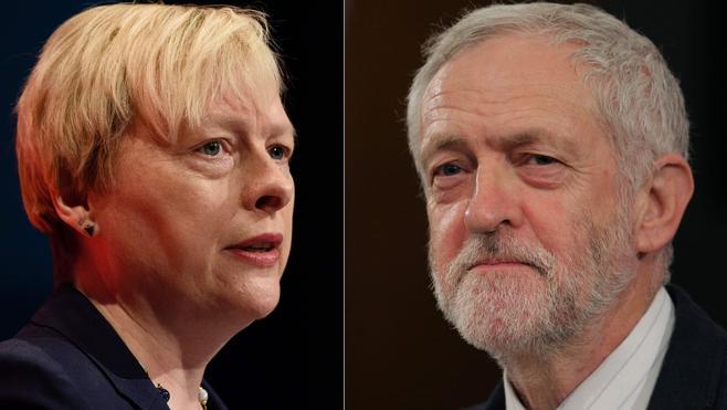 Angela Eagle desafía el liderazgo de Corbyn