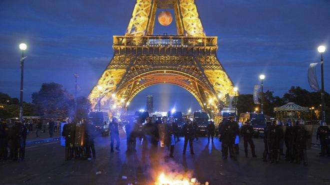 Francia ha detenido a 1.550 personas durante la Eurocopa