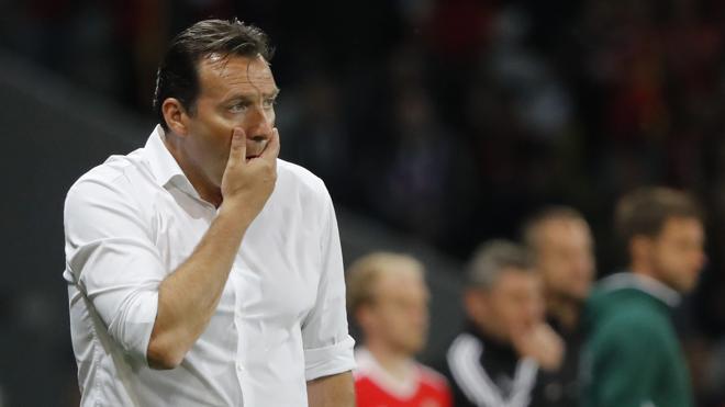 Marc Wilmots deja de ser el seleccionador de Bélgica