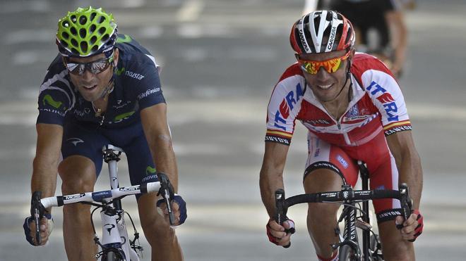 Valverde y 'Purito' Rodríguez encabezan el equipo español de ciclismo para Río