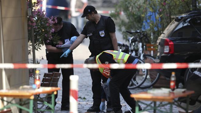El autor de la explosión en Ansbach amenazó con un atentado en nombre del Islam