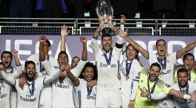 Ramos y Carvajal valen una Supercopa