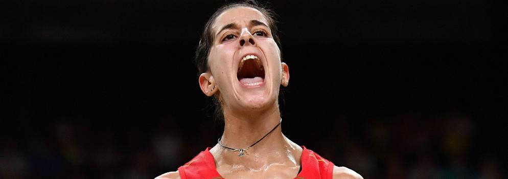 Carolina Marín, a la final